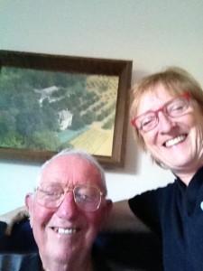 Dad and me selfie