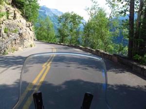 Glacier-road-action-shot sm