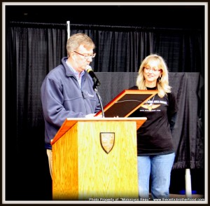 Dora Mayor Jim Watson and Dora DiFrancescomarino, Chair SOAR