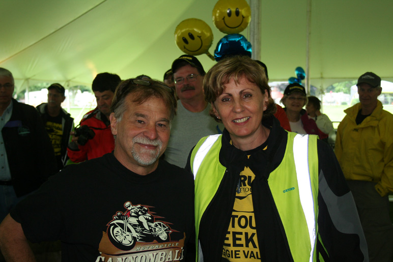 Christa and Dale Walksler at Wheels Through Time