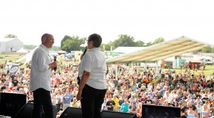 Coleman_Andrea Coleman and Toby Moody on stage